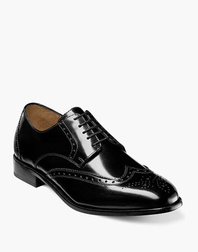 Brookside Wingtip Oxford in Black for 79.90 dollars.