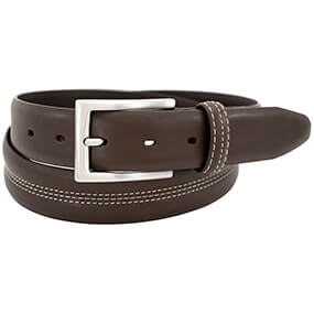 Parker Casual Genuine Leather Belt in Brown for $30.00