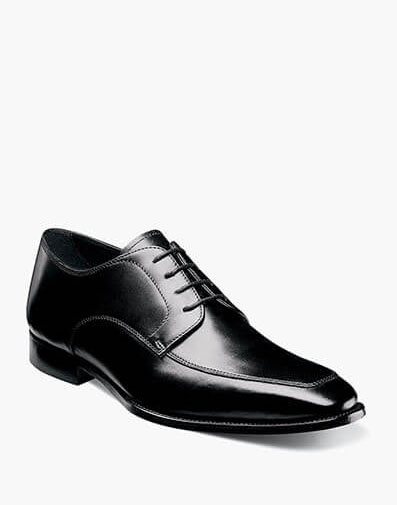 Jacobi  Moc Toe Oxford in Black for 190.00 dollars.