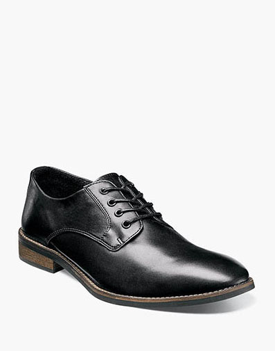 Hanlan Plain Toe Oxford in Black for 49.90 dollars.