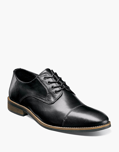 Hanlan Cap Toe Oxford in Black for 49.90 dollars.