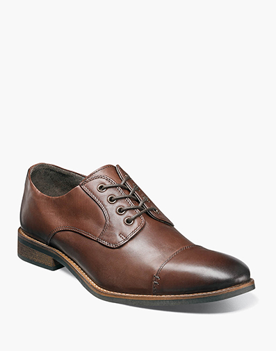 Hanlan Cap Toe Oxford in Brown for 49.90 dollars.