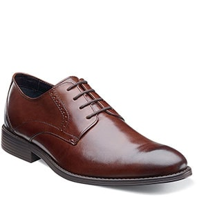 Merano Plain Toe Oxford in Brown for 39.90 dollars.