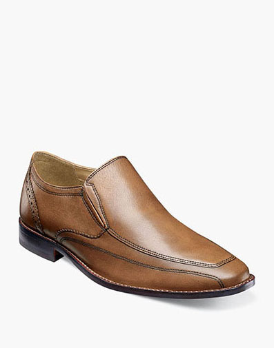 Finley Moc Toe Slip On in Cognac for 79.90 dollars.