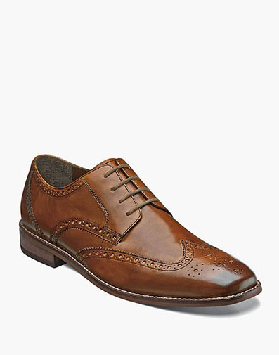 Montinaro Wingtip Oxford in Saddle Tan for 79.90 dollars.