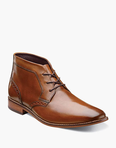 Montinaro Plain Toe Chukka Boot in Saddle Tan for $89.90