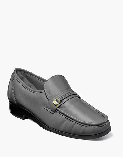 Murano Moc Toe Bit Loafer in Gray for 69.90 dollars.