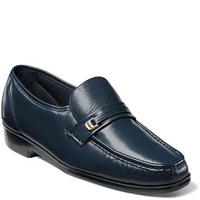 Murano Moc Toe Bit Loafer in Navy for 69.90 dollars.