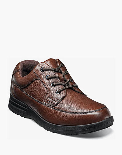Cavin Moc Toe Oxford in Cognac Tumbled for 59.90 dollars.