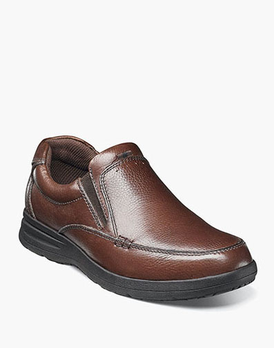 Cavin Moc Toe Slip On in Cognac Tumbled for 59.90 dollars.