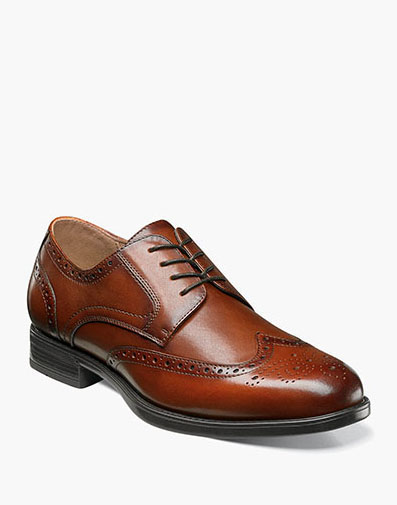 Meridian Wingtip Oxford in Cognac for 49.90 dollars.