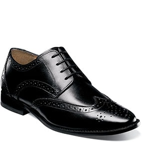 Finley II Wingtip Oxford in Black for $69.90
