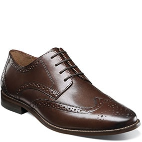 Finley II Wingtip Oxford in Brown for $69.90