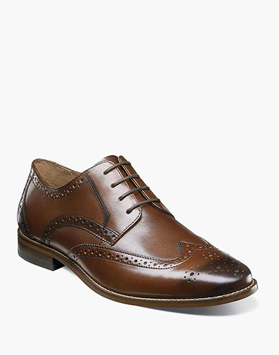 Finley II Wingtip Oxford in Cognac for $69.90