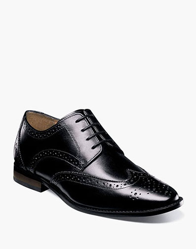 Matera Wingtip Oxford in Black for 69.90 dollars.