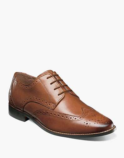 Matera Wingtip Oxford in Cognac for 69.90 dollars.