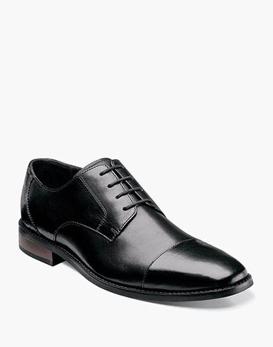 Matera Cap Toe Oxford in Black for 69.90 dollars.