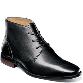 Matera Plain Toe Chukka Boot in Black for 49.90 dollars.