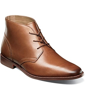 Matera Plain Toe Chukka Boot in Cognac for $69.90