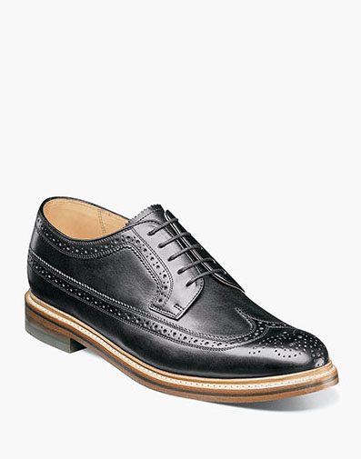 Kenmoor II Wingtip Oxford in Black for $225.00