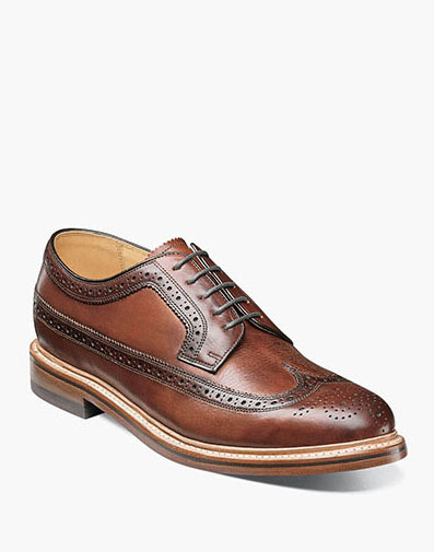 Kenmoor II Wingtip Oxford in Cognac for 225.00 dollars.