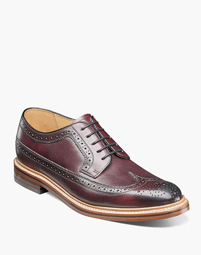 Kenmoor II Wingtip Oxford in Burgundy for 225.00 dollars.