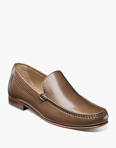 Beaufort Moc Toe Venetian Loafer in Cognac for 130.00 dollars.