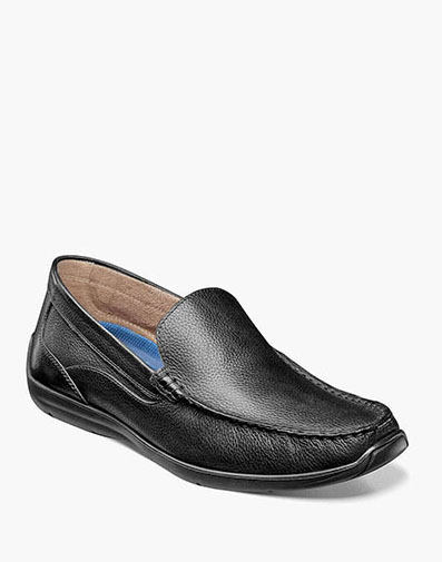 Creston Moc Toe Venetian Driver in Black Tumbled for 49.90 dollars.