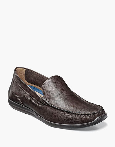 Creston Moc Toe Venetian Driver in Dark Brown for 49.90 dollars.