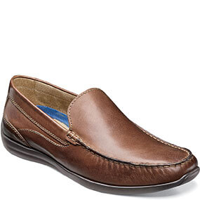 Creston Moc Toe Venetian Driver in Cognac for 49.90 dollars.