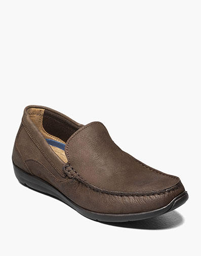 Creston Moc Toe Venetian Driver in Brown Nubuck for 49.90 dollars.