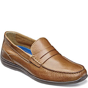 Creston Moc Toe Penny Loafer in Saddle Tan for $59.90
