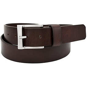 Buffalo Casual Genuine Leather Belt in Brown for $35.00