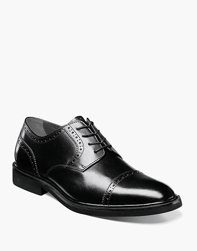 Clevan Cap Toe Oxford in Black for 49.90 dollars.