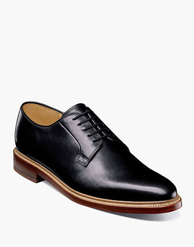 Kenmoor II Plain Toe Oxford in Black for 225.00 dollars.