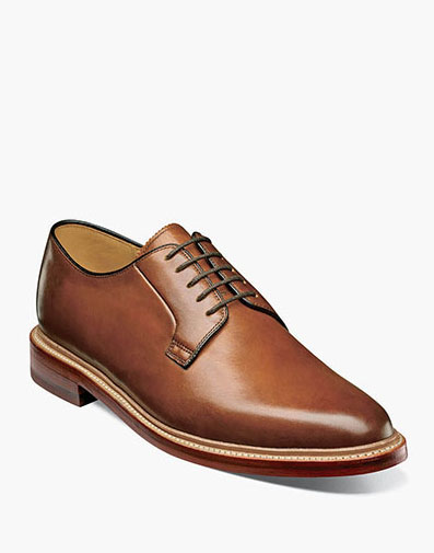 Kenmoor II Plain Toe Oxford in Cognac for 225.00 dollars.
