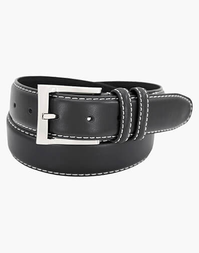 Texan Genuine Leather Belt in Black for $24.90