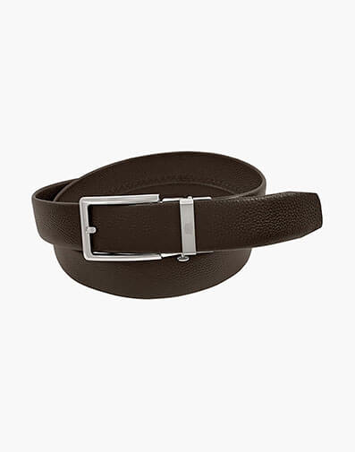 Vizcarra Track Buckle Belt in Brown for $34.90