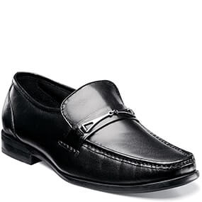 Bastille Moc Toe Bit Loafer in Black for 49.90 dollars.