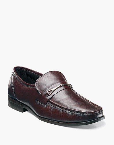 Bastille Moc Toe Bit Loafer in Burgundy for 49.90 dollars.