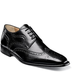 Classico Wingtip Oxford in Black for $64.90
