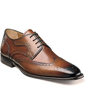 Classico Wingtip Oxford in Cognac for $64.90