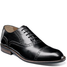 Pascal Cap Toe Oxford in Black for $79.90