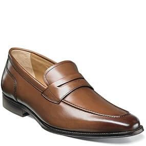 Classico Moc Toe Penny Loafer in Cognac for $89.90