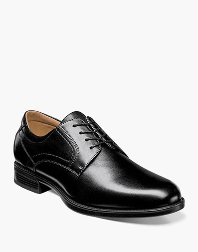 Midtown Plain Toe Oxford in Black for 115.00 dollars.