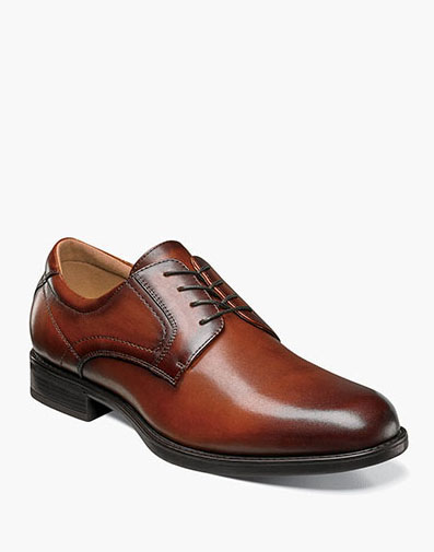 Midtown Plain Toe Oxford in Cognac for $110.00