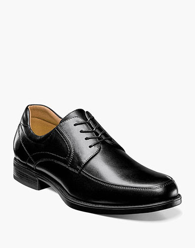 Midtown Moc Toe Oxford in Black for 115.00 dollars.