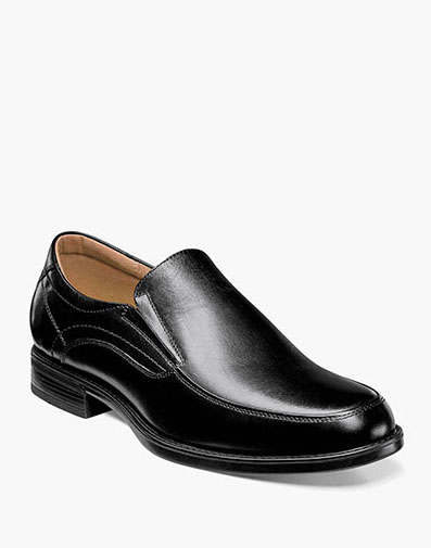 Midtown Moc Toe Slip On in Black for 115.00 dollars.