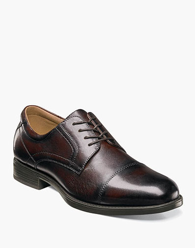 Midtown Cap Toe Oxford in Brown for 115.00 dollars.