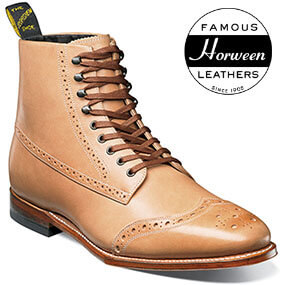125th Boot Wingtip Boot in Natural for $179.90